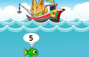 Math Fisher Game