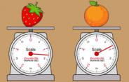 Weighing Fruits Game
